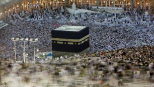 Des millions de pèlerins se rassemblent chaque année à La Mecque.