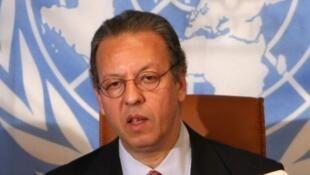 Le nouvel émissaire de l'ONU pour le Burundi, Jamal Benomar.