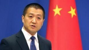 中国外交部发言人陆慷资料图片