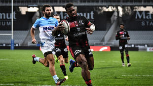 Fiji winger Josua Tuisova joined Lyon last season after six campaign with Toulon
