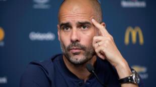 Mai horar da kungiyar kwallon kafa ta Manchester City, Pep Guardiola