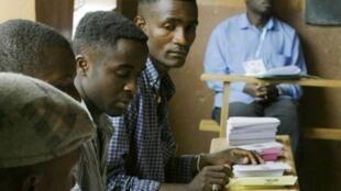 Un bureau de vote de Yaoundé, lors de l'élection présidentielle camerounaise de 2011.
