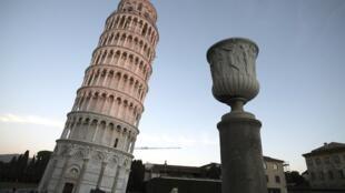 La Tour de Pise, en Italie.