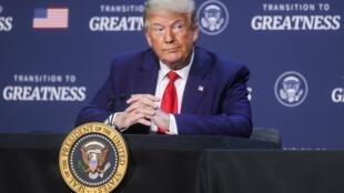 Le président américain Donald Trump, le 11 juin 2020 à Dallas, au Texas.