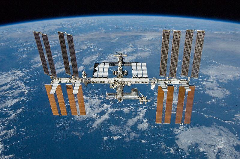 La Station spatiale internationale, le 23 mai 2010 (image d'illustration).