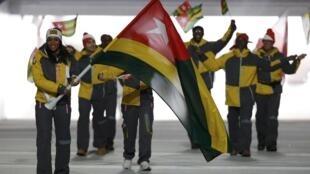 Mathilde Amivi Petitjean était la porte-drapeau de la délégation togolaise lors de la cérémonie d'ouverture des JO 2014 à Sotchi.