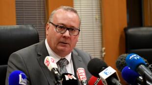 O procurador da República de Grenoble, Jean-Yves Coquillat.