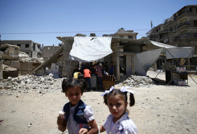 Près d'un demi-million de Syriens ont fait le choix de revenir dans leur ville ou village, depuis le début de l'année 2017.