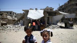 Près d'un demi-million de Syriens ont fait le choix de revenir dans leur ville ou village, depuis le début de l'année.