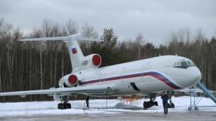 Avião russo Tu-154
