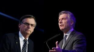 Imagem de Bolsonaro prejudica planos de reeleição de Macri na Argentina.