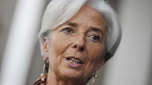 Christine Lagarde, ministra francesa de Economía.