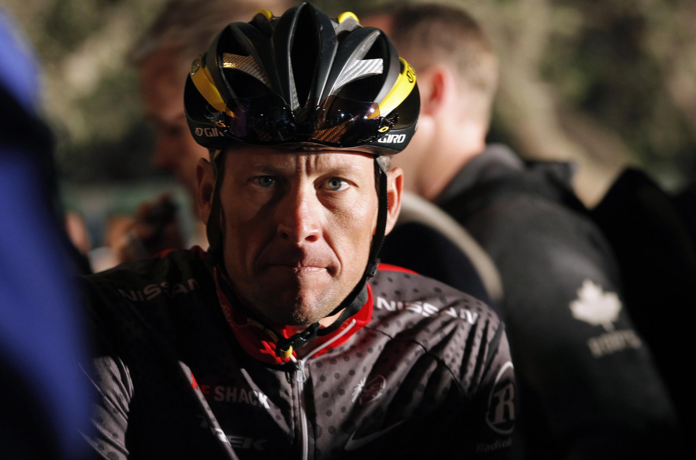 O americano Lance Armstrong.