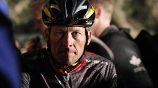O ciclista americano Lance Armstrong.