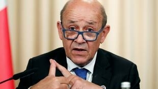 French Foreign Minister Jean-Yves Le Drian warning that time is running out for a resumption of talks between Tehran and Washington.