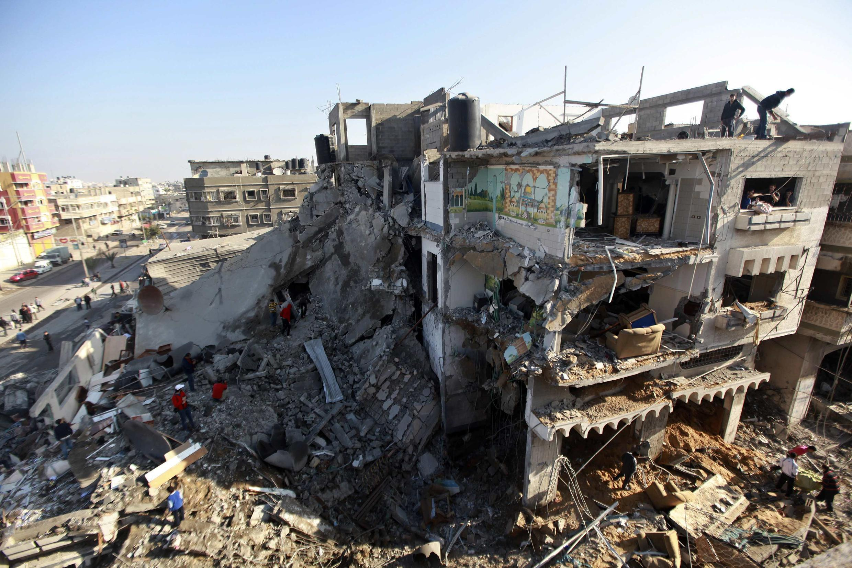 Wani harin da Isra'ila ta kai a Gaza