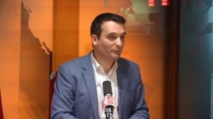 Florian Philippot sur RFI le 24 avril 2018.