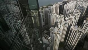 A dizzying prospect - central Hong Kong