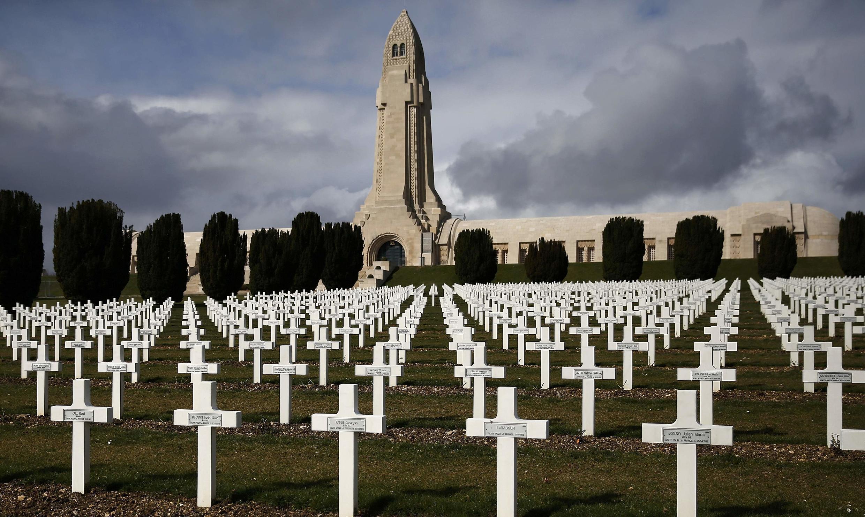 Военное кладбище в Вердене