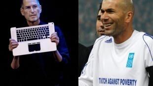 Personalidades donas de grandes fortunas sofrem de problema de calvície como o diretor geral da Apple, Steve Jobs e o jogador de futebol francês, Zinedine Zidane.