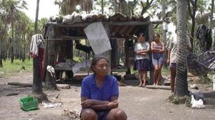 Comunidad 96, un grupo indígena enxet del Paraguay  también en lucha por la recuperación de sus tierras