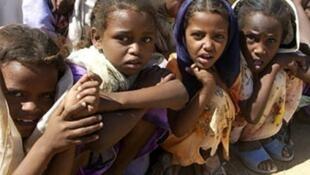 Eritrean refugees in Sudan