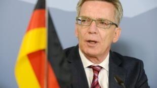وزیر کشور آلمان Thomas de Maizière