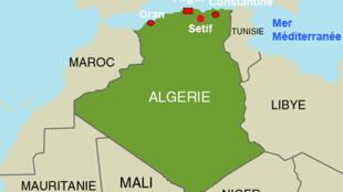 L'Algérie.