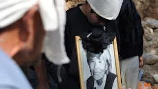 中國年紀最大的慰安婦受害者尹玉林逝世後於10月12日在山西太原舉行葬禮。