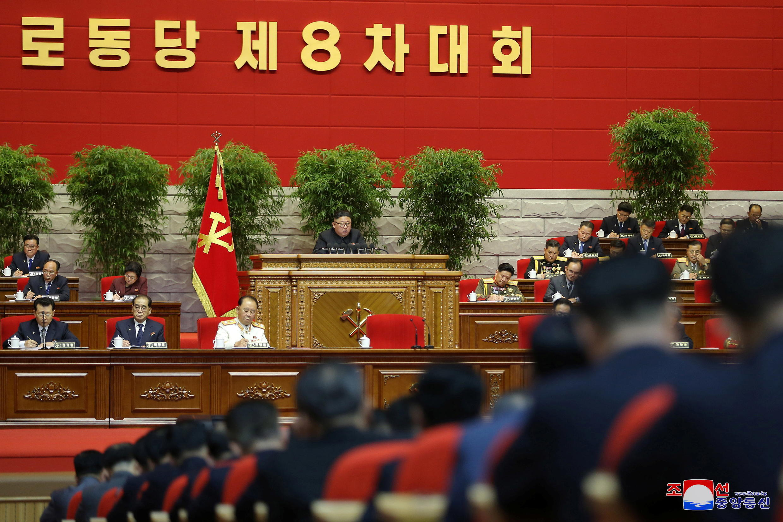 corée du nord - congrès - kim jong un  2021-01-06T213258Z_1757155190_RC2L2L9N9AIU_RTRMADP_3_NORTHKOREA-POLITICS