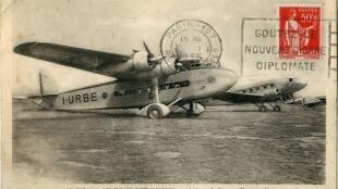1930 год, итальянские самолеты в Ле Бурже
