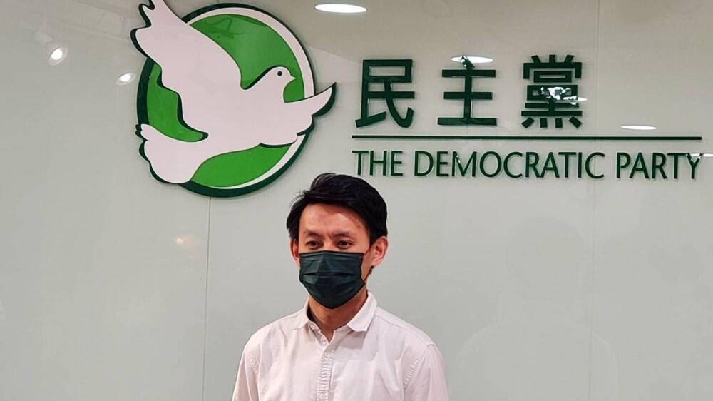 26.9 羅健熙:民主黨不就罷選立法會作決定。(麥燕庭攝)