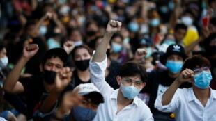 Thailande mouvement