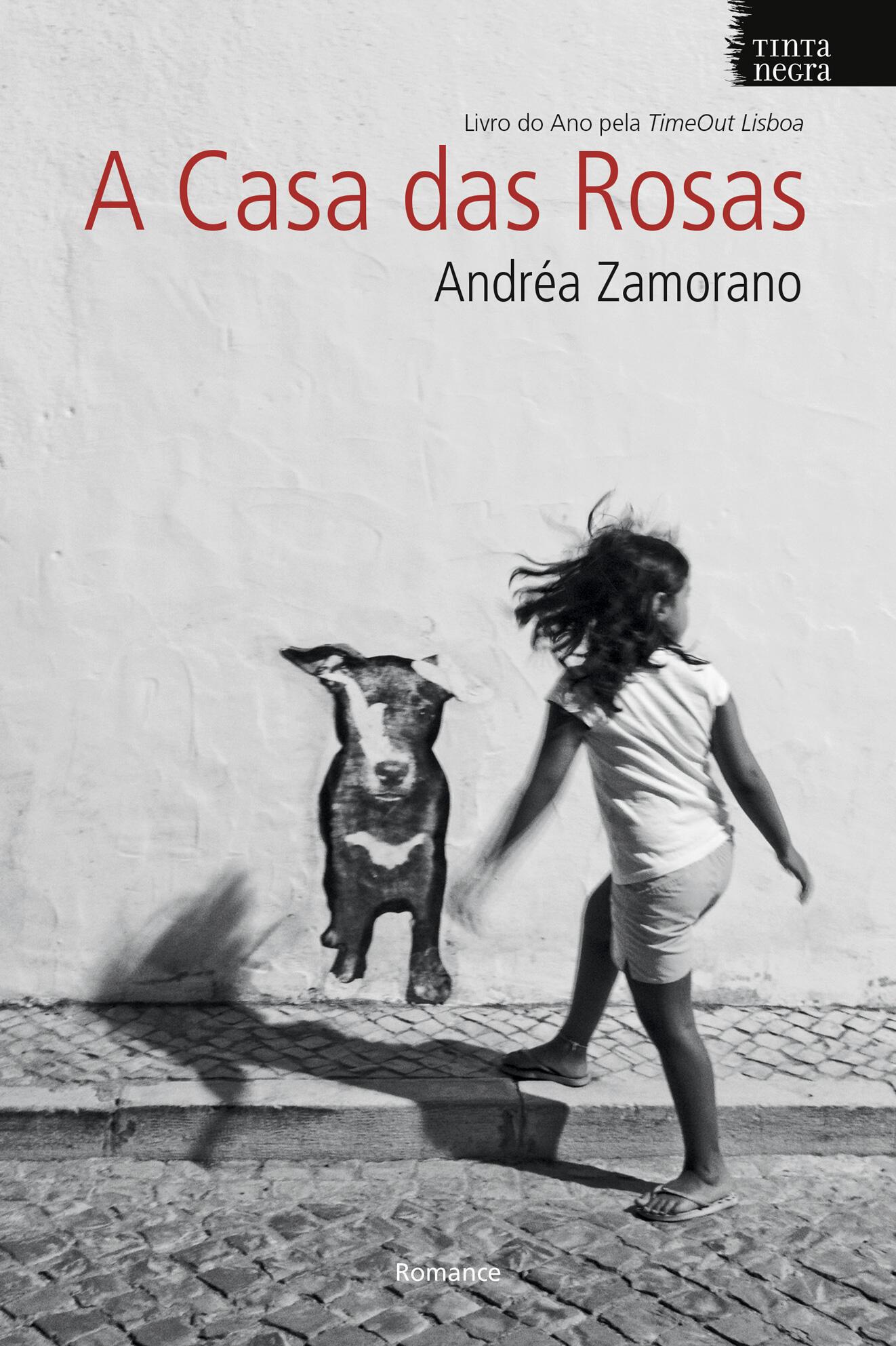 """A """"A casa das Rosas"""", romance de estreia de Andréa Zamorano, será lançado no Brasil durante a Flip de Paraty."""