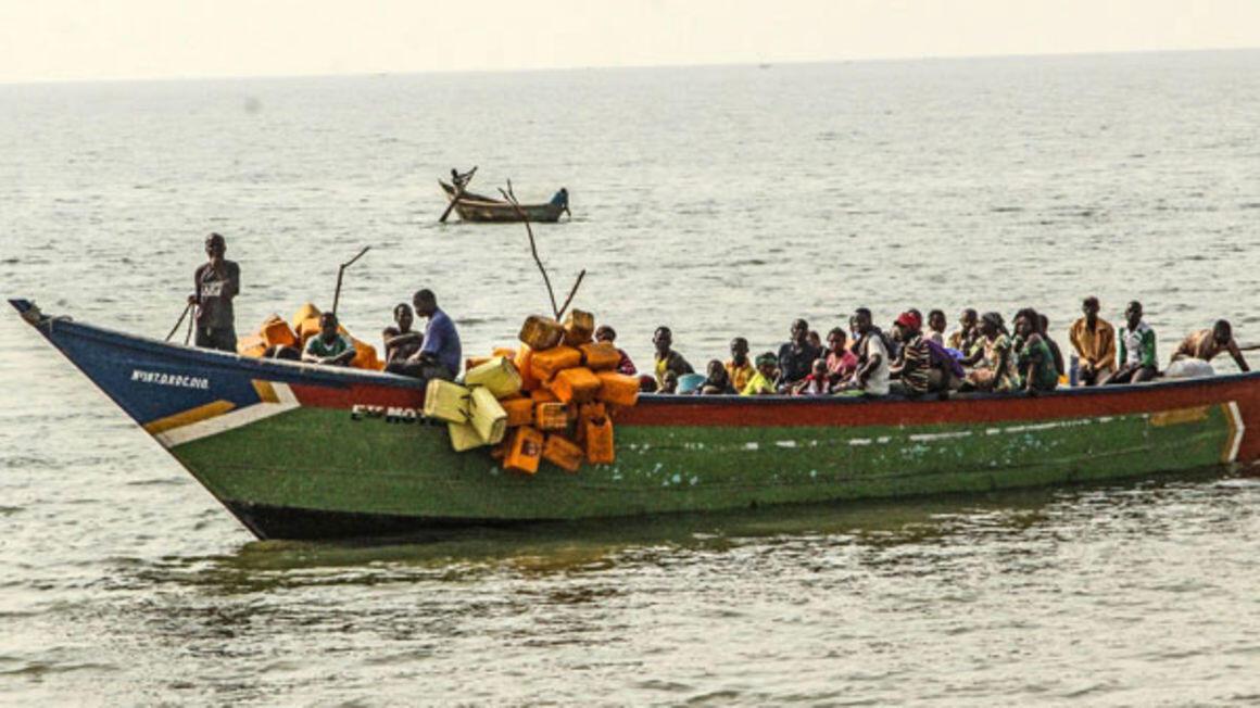 Ziwa Albert kati ya Uganda na DRC
