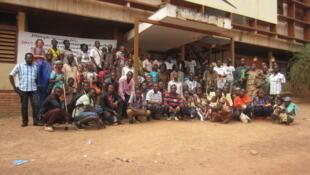 L'équipe d'ATD Quart Monde à Bangui.