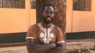 Sociólogo guineense Miguel de Barros em Bissau a 1 de Janeiro de 2020.