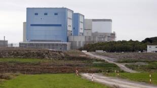 La centrale nucléaire de Hinkley Point C, dans le sud-ouest de l'Angleterre, en 2013.