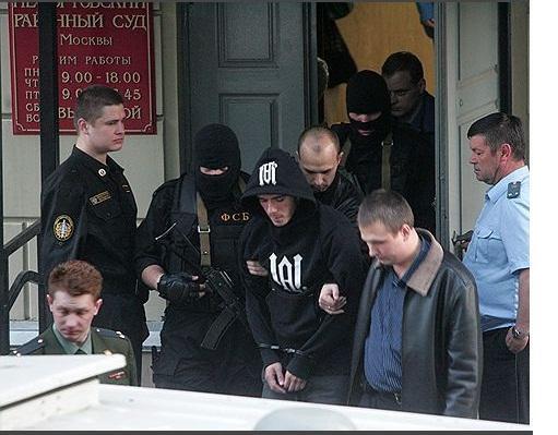 Руслан Мусаев - обвиняемый в покушении на жизнь Рамзана Кадырова и терроризме. Москва, 2009 год