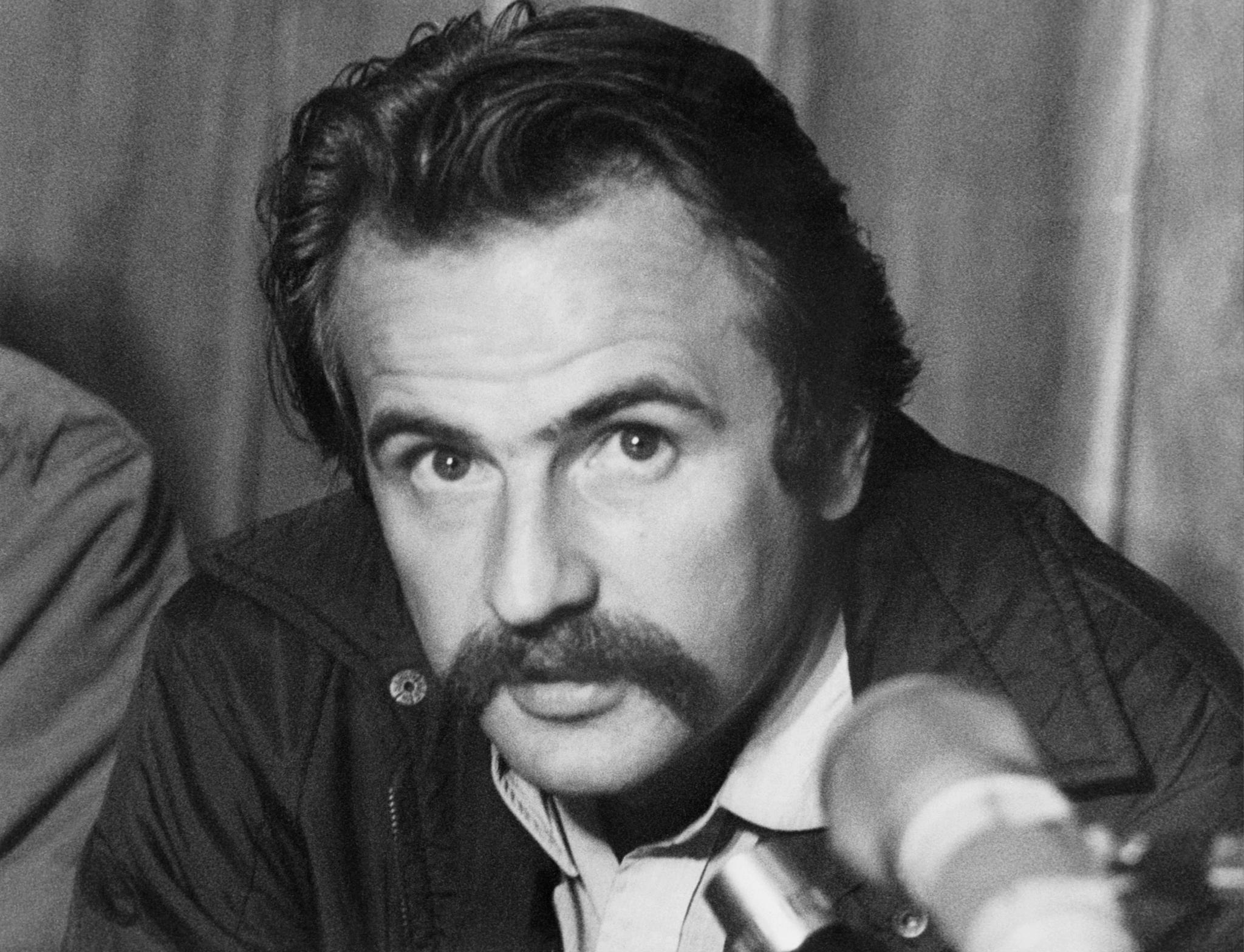 Régis Debray, à la Havane, en février 1971, juste après sa libération de prison en Bolivie.