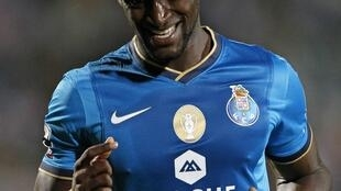 Jackson Martínez, avançado do FC Porto e autor do único golo frente ao Paços de Ferreira.