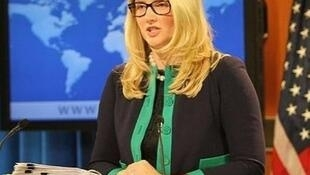 Marie Harf, phó phát ngôn viên bộ Ngoại giao Mỹ.