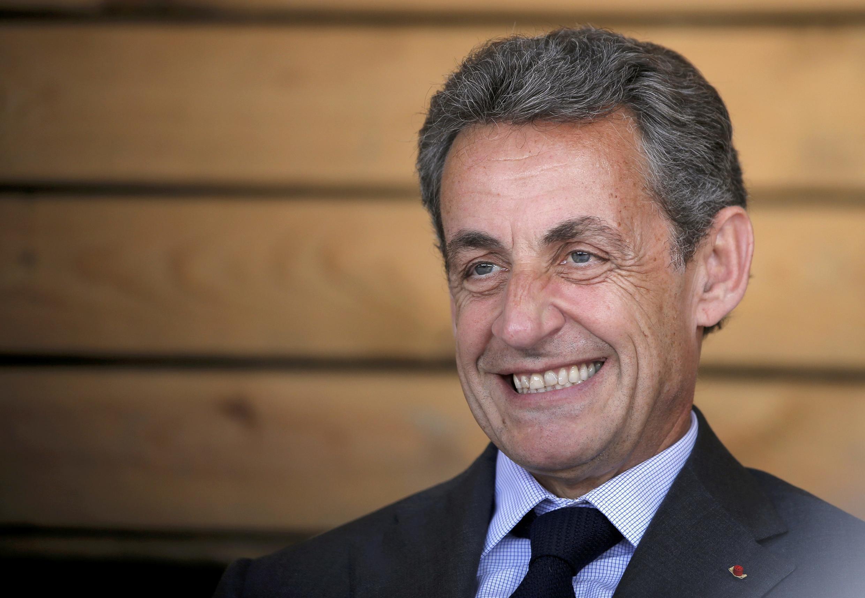 Николя Саркози в Эльзасе, июль 2016 года