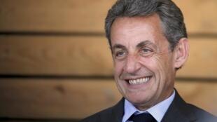 Cựu tổng thống Pháp Nicolas Sarkozy, ngày 09/07/2016.