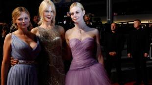 『牡丹花下』女主角妮可基德曼和劇組其他演員登場亮相