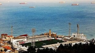 Le stade de Bologhine à Alger où s'est joué le match de la Coupe arabe des clubs entre l'USM Alger et les Forces aériennes d'Irak, dimanche 9 septembre.