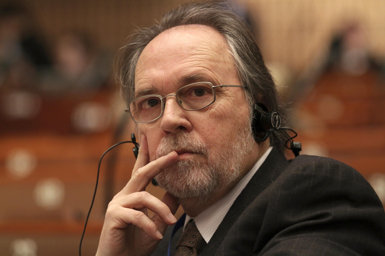Докладчик Совета Европы по правам человека Дик Марти 25 января 2011.