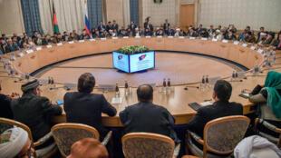 Cuộc gặp chính thức đầu tiên giữa đại diện Taliban và nhiều lãnh đạo đối lập Afghanistan tại Matxcơva, ngày 5/2/2019.