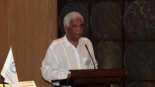 Jean-Claude de l'Estrac, secrétaire général de la Commission de l'Océan indien.