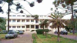 Le ministère de l'Enseignement supérieur à Antananarivo.